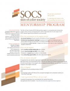 16 SOCS Mentorship flier.FINALv3