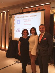 Dr. Marta Rendon and Dr. Seemal with Brown Girl Magazine Editor Sapna Sakaria