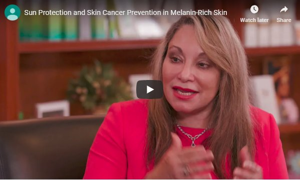 DEBUNKING MYTHS ABOUT SUN SAFETY, SKIN CANCER AND SKIN OF COLOR-banner-image